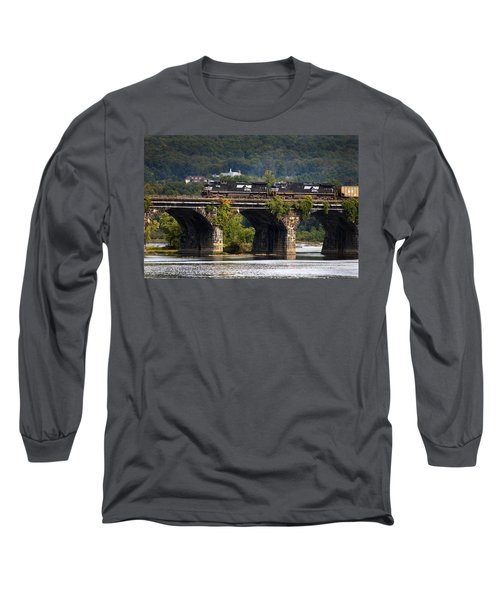 Across The Rockville Long Sleeve T-Shirt by Paul W Faust -  Impressions of Light