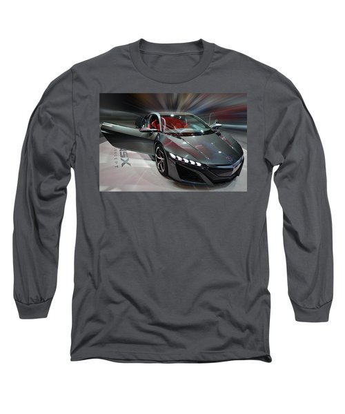 Acura Nsx Concept 2013 Long Sleeve T-Shirt