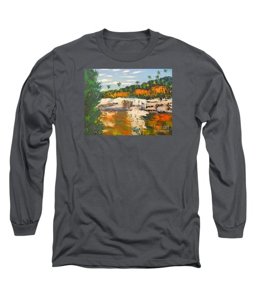 Adele Gorge At Lawn Hill National Park Long Sleeve T-Shirt