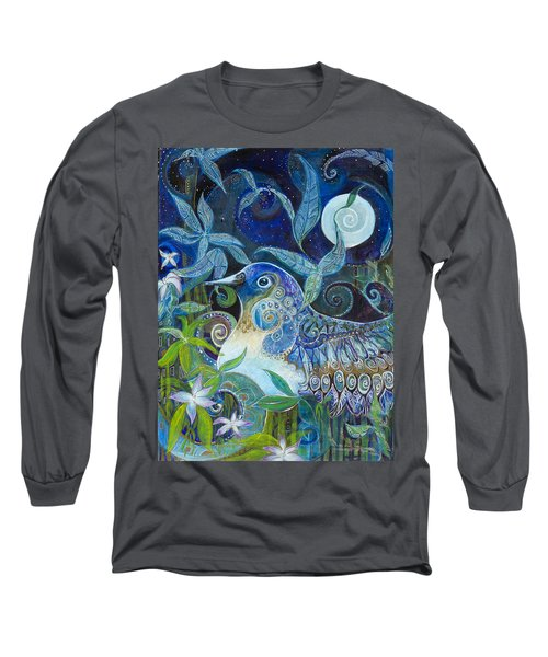 Admiration Long Sleeve T-Shirt by Leela Payne