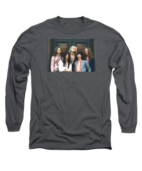Aerosmith - Boston 1973 Long Sleeve T-Shirt by Epic Rights