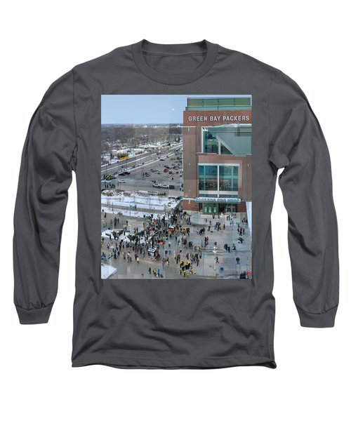 After A Winter Packers Game Long Sleeve T-Shirt