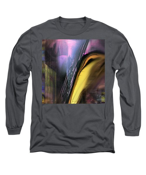 Long Sleeve T-Shirt featuring the painting After Dark 2 by Yul Olaivar