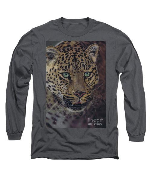 After Dark All Cats Are Leopards Long Sleeve T-Shirt