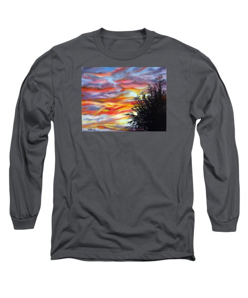 After The Storm Long Sleeve T-Shirt by LaVonne Hand