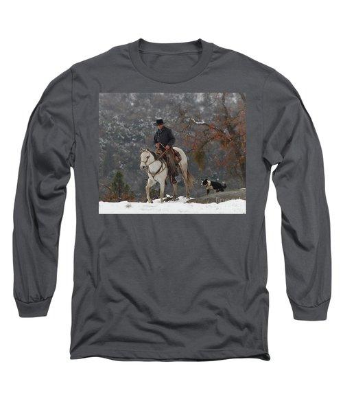 Ahwahnee Cowboy Long Sleeve T-Shirt