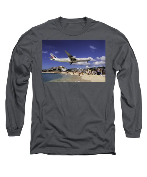 Air France St. Maarten Landing Long Sleeve T-Shirt