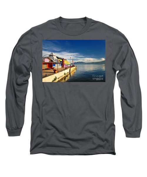 Ajijic Pier - Lake Chapala - Mexico Long Sleeve T-Shirt