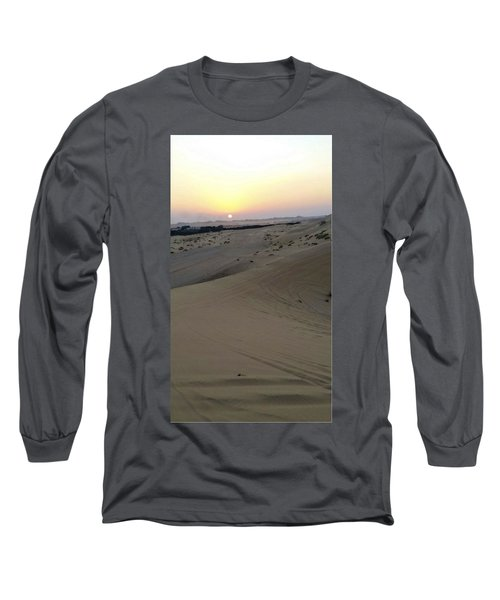 Al Ain Desert 8 Long Sleeve T-Shirt