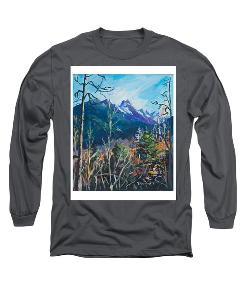 Alaska Autumn Long Sleeve T-Shirt by Yulia Kazansky