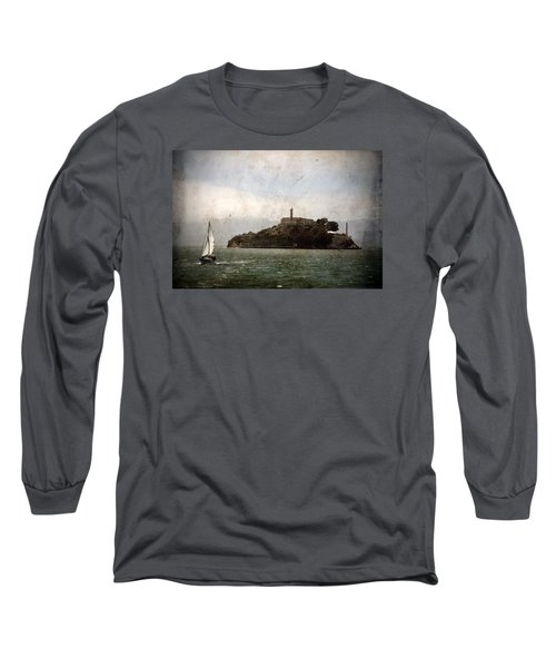 Alcatraz Island Long Sleeve T-Shirt by RicardMN Photography