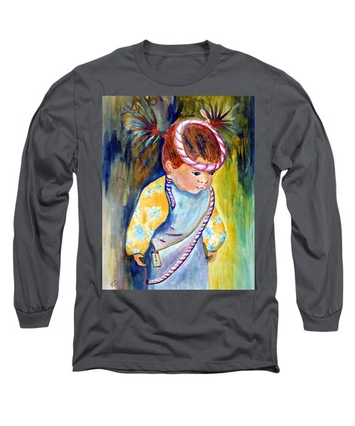 Ali Learns To Bow Long Sleeve T-Shirt