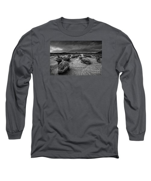 Alien Eggs At The Bisti Badlands Long Sleeve T-Shirt by Keith Kapple