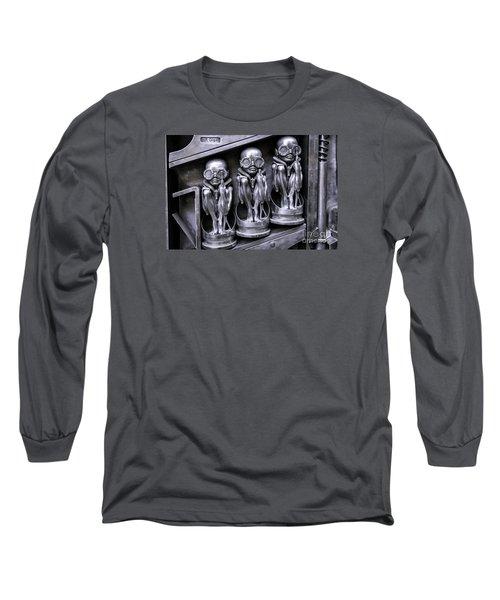 Alien Elton Long Sleeve T-Shirt by Timothy Hacker