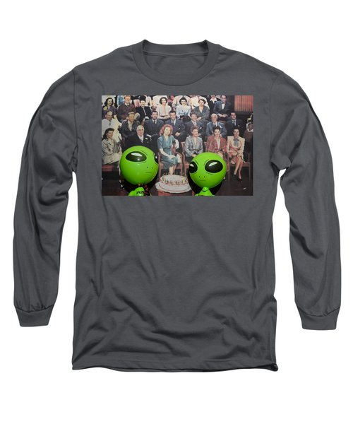 Alien Nostalgia Long Sleeve T-Shirt