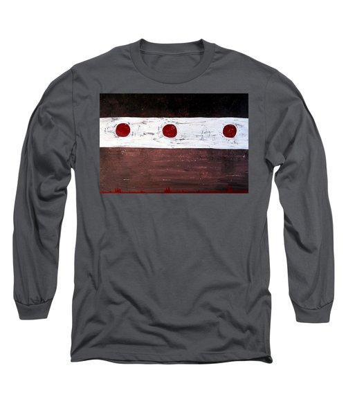 Alignment Original Painting Long Sleeve T-Shirt