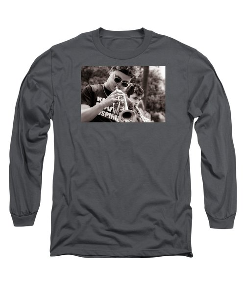 Long Sleeve T-Shirt featuring the photograph All That Jazz by Tim Stanley