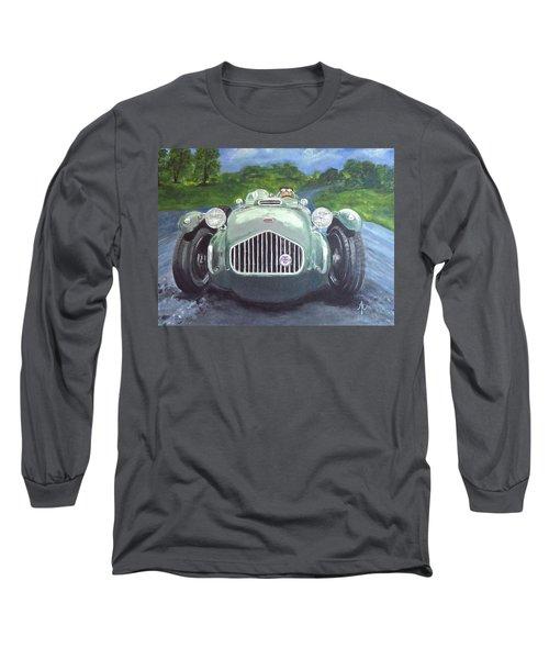 Long Sleeve T-Shirt featuring the painting Allard J2x by Anna Ruzsan