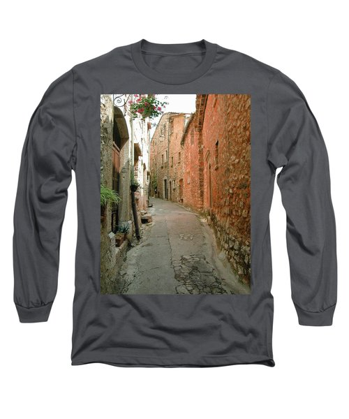 Alley In Tourrette-sur-loup Long Sleeve T-Shirt