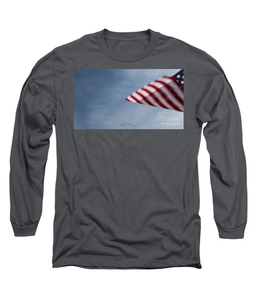 Long Sleeve T-Shirt featuring the photograph Almost Home by Angela DeFrias