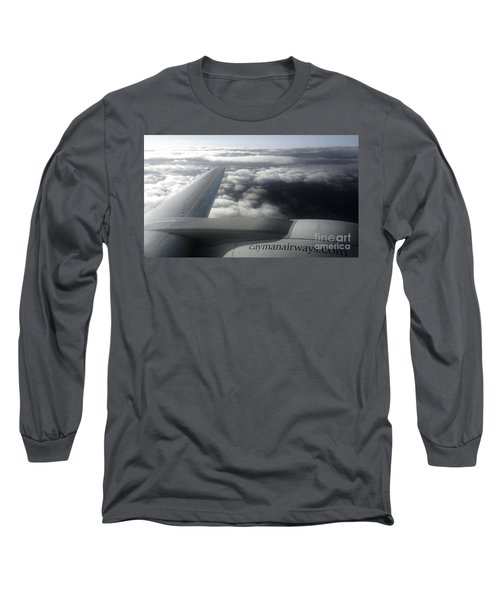 Aloft Long Sleeve T-Shirt by Amar Sheow