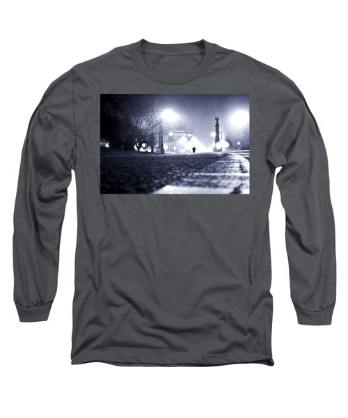 Alone Brooklyn Nyc Usa Long Sleeve T-Shirt