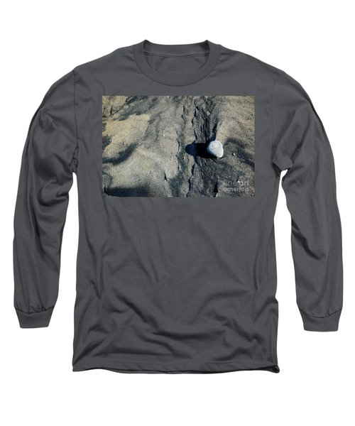 Long Sleeve T-Shirt featuring the photograph Alone by Christiane Hellner-OBrien