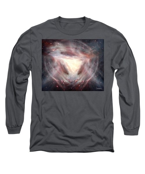 Alpha And Omega Long Sleeve T-Shirt by Bill Stephens