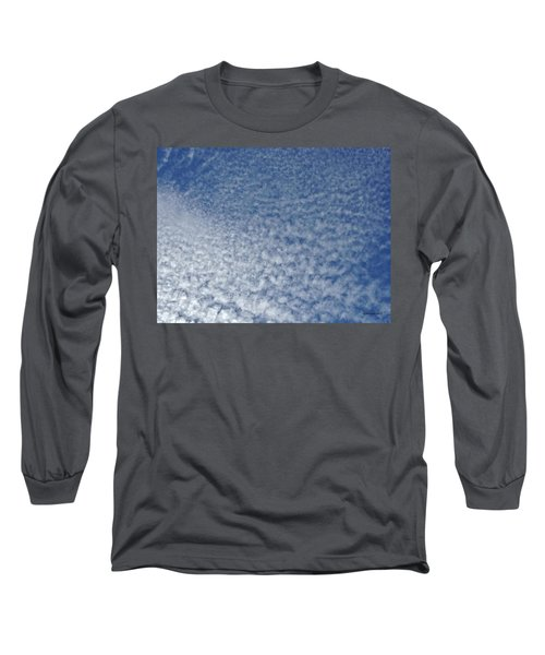 Long Sleeve T-Shirt featuring the photograph Altocumulus Clouds by Jason Williamson