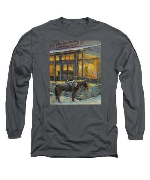 Long Sleeve T-Shirt featuring the painting Always Open by Donna Tucker