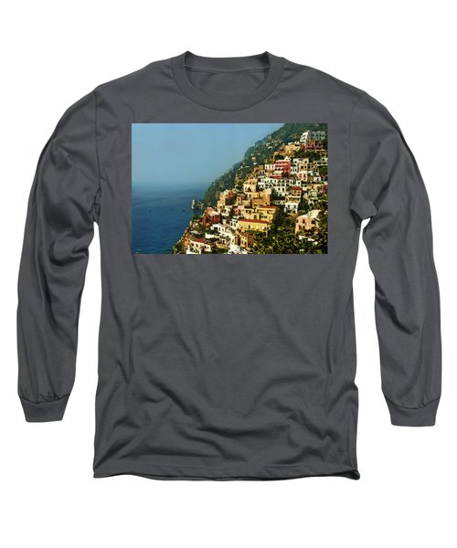 Amalfi Coast Hillside II Long Sleeve T-Shirt