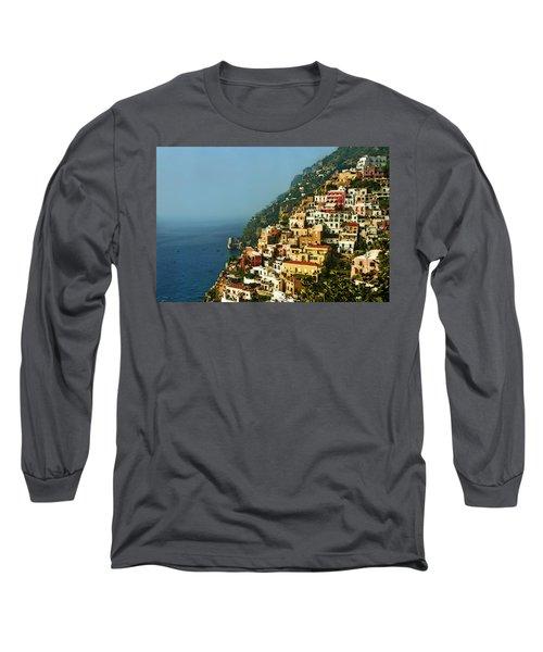Positano Impression Long Sleeve T-Shirt