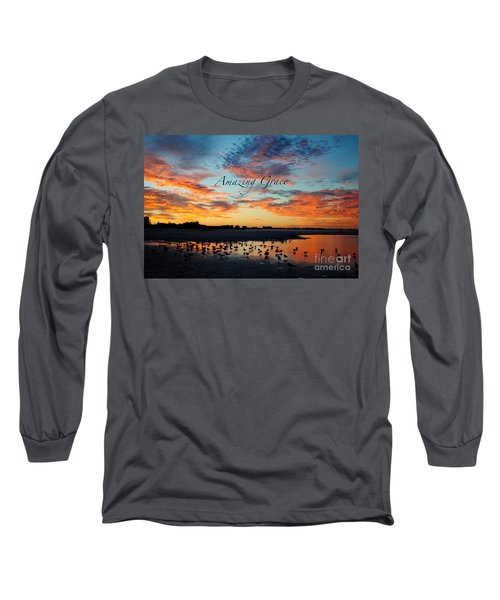 Amazing Grace On Siesta Key Long Sleeve T-Shirt