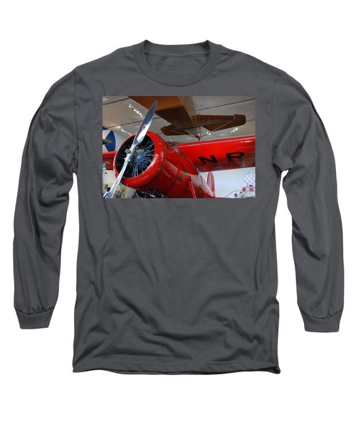 Amelia Earhart Prop Plane Long Sleeve T-Shirt