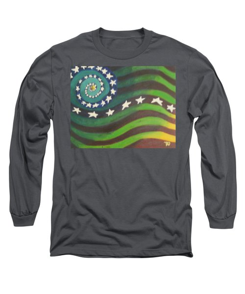 American Flag Reprise Long Sleeve T-Shirt