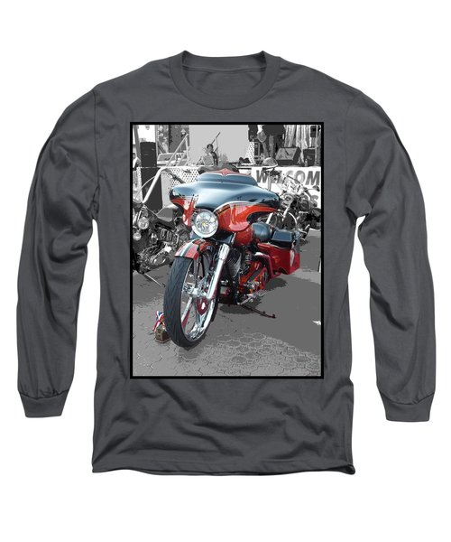 Long Sleeve T-Shirt featuring the photograph American Heat - Palm Springs by Glenn McCarthy Art and Photography