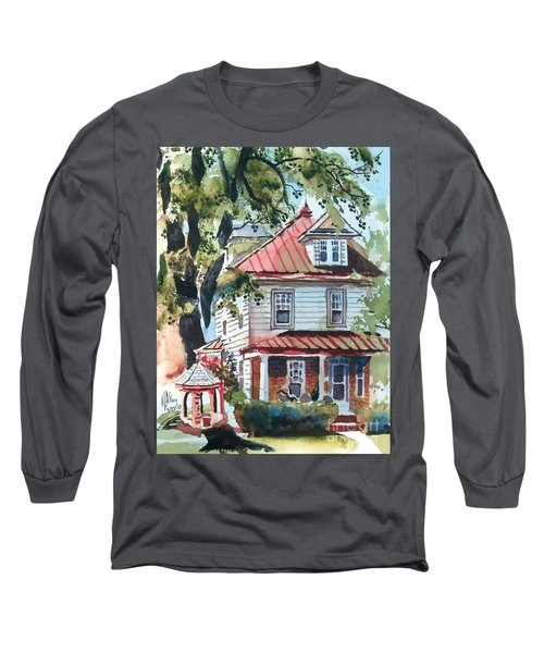 American Home With Children's Gazebo Long Sleeve T-Shirt