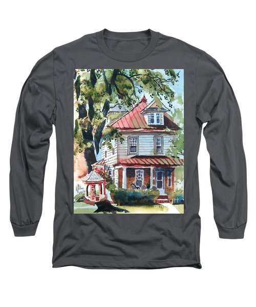 American Home With Children's Gazebo Long Sleeve T-Shirt