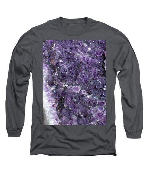 Amethyst Geode II Long Sleeve T-Shirt