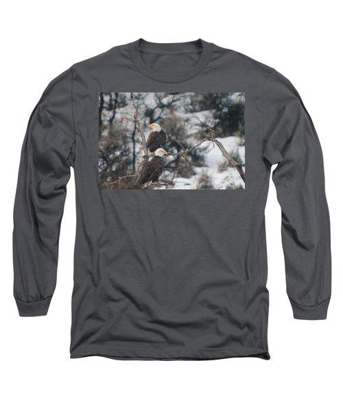 An Eagle Pair  Long Sleeve T-Shirt