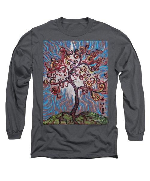 An Enlightened Tree Long Sleeve T-Shirt
