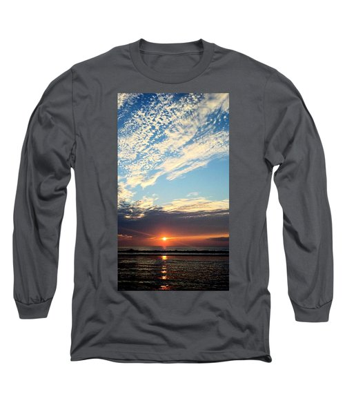 An Ocean And A Sunrise Long Sleeve T-Shirt