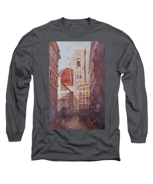 And Suddenly The Duomo Long Sleeve T-Shirt