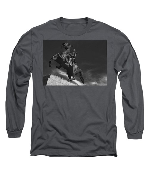 Andrew Jackson   Long Sleeve T-Shirt by Ron White