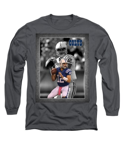 Andrew Luck Colts Long Sleeve T-Shirt