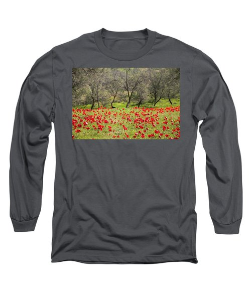 At Ruchama Forest Israel Long Sleeve T-Shirt