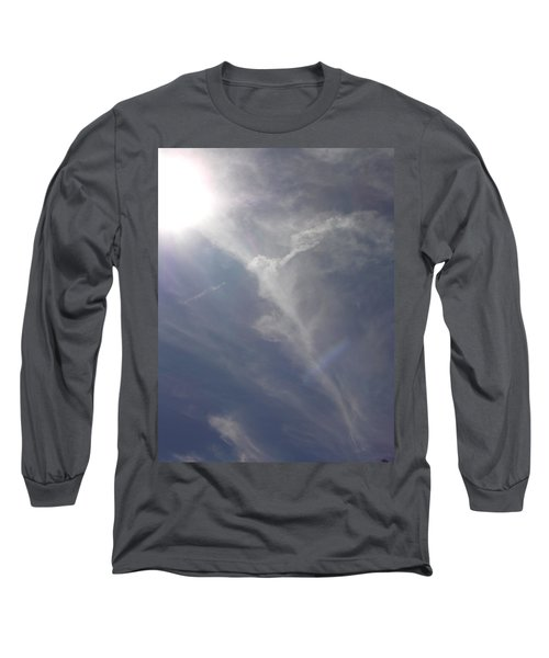 Angel Holding Light Long Sleeve T-Shirt