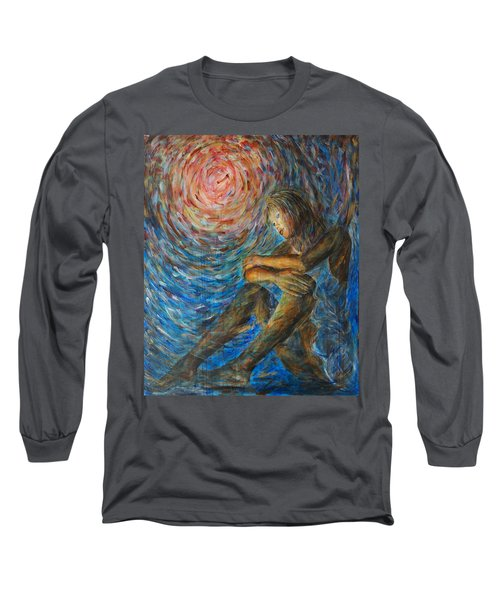 Angel Moon I Long Sleeve T-Shirt