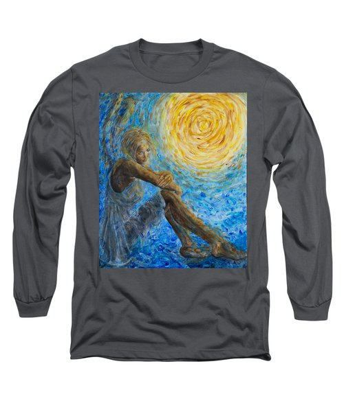 Angel Moon II Long Sleeve T-Shirt