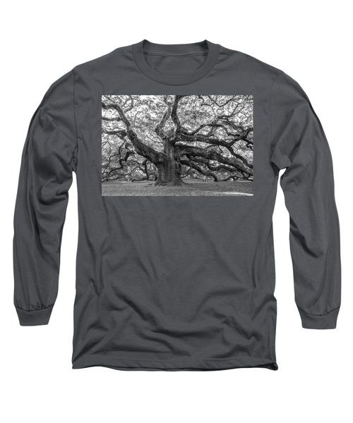 Angel Oak Tree Long Sleeve T-Shirt